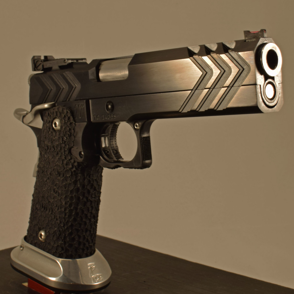 Atlas Firearms 1911 blued to go out to one of their competitive shooters